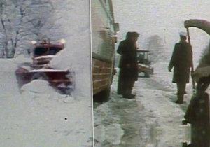 Náhlá změna počasí paralyzovala před 40 lety téměř celou zemi