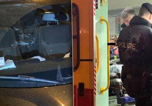 Řidička na Silvestra pár minut před půlnocí srazila dvě ženy, měla být opilá.