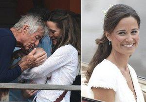 Pippa Middleton konečně ukázala synka
