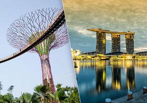 Singapur je symbolem hospodářského zázraku kousek od rovníku