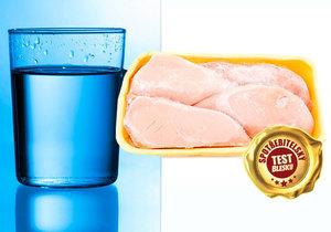 Za přidanou vodu platíte stejně jako za maso.