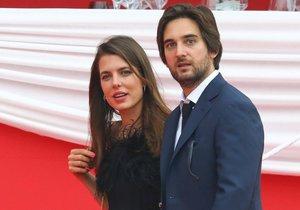 Charlotte Casiraghi s filmovým producentem Dimitri Rassamem