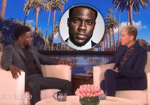 Ellen DeGeneres a Kevin Hart