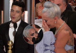 Lady Gaga nezvládla porážku od filmu Bohemian Rhapsody na Zlatých glóbech, celý večer proplakala.