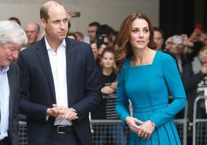 Princ William a vévodkyně Kate Middleton