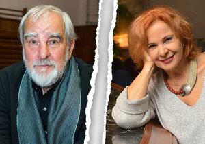 Kamila Magálová a její bratr Marián Slovák