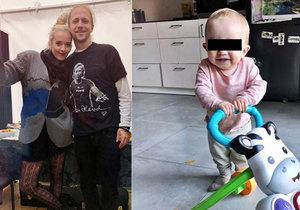 Manželka Tomáše Kluse řekla, proč nejmladší dcera dostala jméno Jenovéfa.