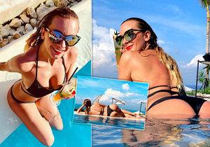 Barbora Mottlová provokuje své fanoušky pikantními fotografiemi z dovolené na Bali!