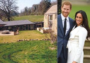 Princ Harry a vévodkyně Meghan odhalili sídlo za 17 milionů korun.