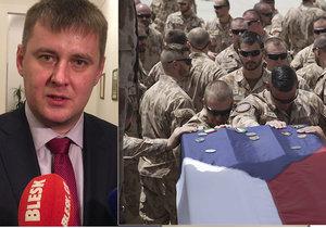 Účast Česka v Afghánistánu je důležitá, říká Petříček (ČSSD). Žádní žoldáci, okupanti a stahování se, pomoci našich vojáků si tam váží
