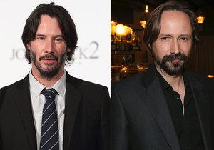 Keanu Reeves a Jaroslav Plesl