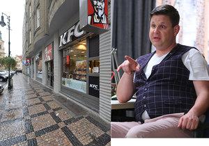 Novotný z Krejzových o incidentu v KFC: Nenechám se vychovávat od prodavačky!