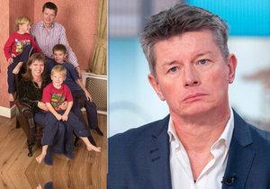 Milionář v televizi prosil syny, aby se mu ozvali