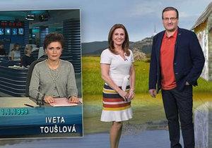 Iveta Toušlová slaví 20 let na obrazovce: Změnila partnera a účes