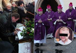 Pohřeb faráře (†41) z jižních Čech, který zemřel za nejasných okolností: Odpověď je v evangeliu, řekl českobudějovický biskup