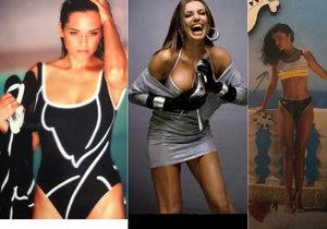 Slavné herečky vytáhly z archivu své sexy fotky