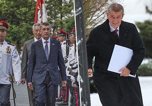 Premiér Andrej Babiš náhle změnil klima, střídalo se u něj teplo i zima.