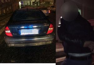 """Zfetovaný a v kradeném autě: Hříšníka zadrželi policisté, poznali ho """"po čuchu"""""""