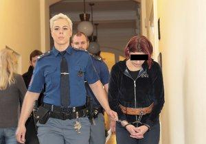 Krkavčí matka (34) obžalovaná z vraždy novorozence: Nehýbal se a nekřičel, řekla u soudu. Po porodu vyrazila do baru