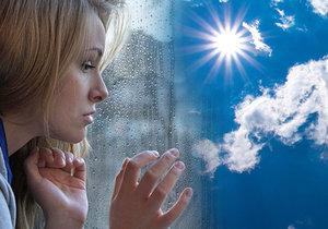 Nedostatek slunečního svitu může v zimě vést až k depresím