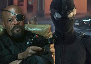 Záběry z traileru na komiksový snímek Spider-Man: Daleko od domova.