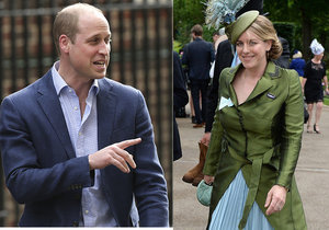 Princ William a dcera Camilly Parker Laura se neustále hádali.