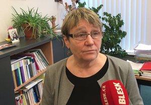 Ombudsmanka Anna Šabatová při rozhovoru pro Blesk