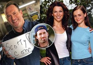 """Scott Patterson coby mrzutý Luke z """"Gilmorek"""": Vydělává na obchodu s kávou!"""