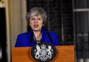 Projev britské premiérky Theresy Mayové poté, co ustála hlasování o nedůvěře (16. 1. 2019)