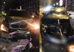 Nehoda na Slovensku. Řidič měl 5,5 promile