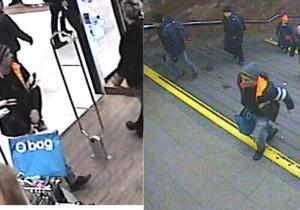 Muž ukradl v obchodě na Zličíně bundu, poznáte ho?