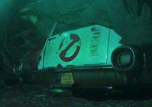 Záběry z teaseru k filmu Krotitelé duchů 3.