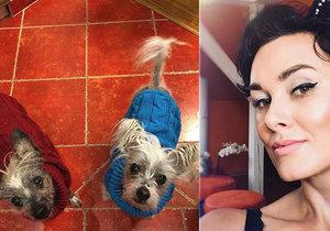 Miss Michaela Salačová se svěřila, že jí umírají psí miláčci.