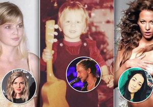 Celebrity se chlubí fotkami z archivu