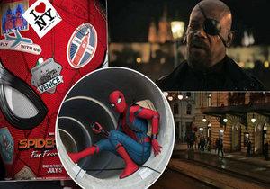 Spider-Man zavítá i do Prahy.