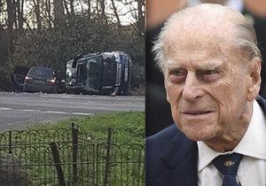 Princ Philip měl autonehodu.