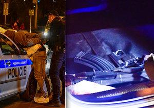 17. 1. 2019: Policisté během pouliční hlídky narazili na vůz, ve kterém nalezli nejen podezřelou střelnou zbraň, ale také s nejvyšší pravděpodobností pervitin.