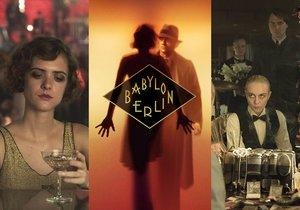 Morálně zkažený Babylon Berlin: Nejdražší německý seriál přichází na české obrazovky 19. ledna 2019.