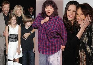Chuck Norris i Steven Tyler: 10 slavných, kteří dali dítě k adopci!
