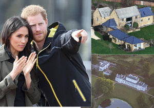 Harry se s Meghan stěhují do nového domu.