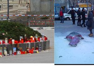 18. ledna se na Václavském náměstí polil hořlavinou a zapálil muž ve věku 54 let. Policie šetří jeho motiv.