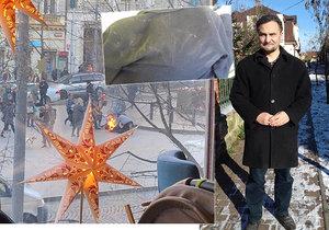 Když uviděl, k čemu se chystá, otec šesti dětí Valentin Papazian neváhal a pokusil se muže od neštěstí zachránit.