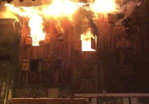 Požár v alpském letovisku Courchevel si vyžádal dvě oběti