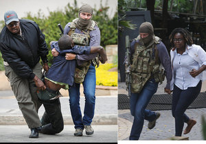 Hrdina z Nairobi: Voják SAS se vřítil do přepadeného hotelu v džínech a se zbraní v ruce