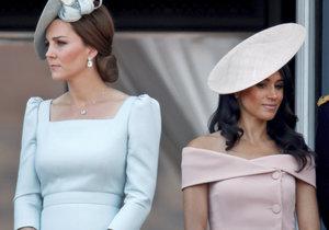 Vévodkyně Kate a Meghan se pohádaly a od té doby se nemusí.