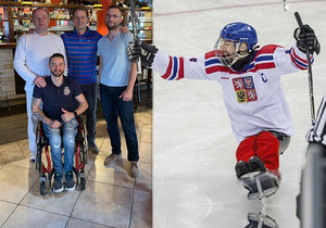 Sledge hokejista Zdeněk Šafránek už se má lépe.