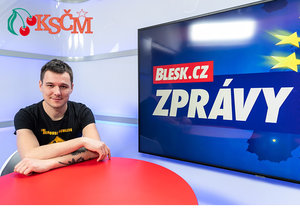 Arťom Korjagin kandiduje za KSČM do Evroského palramentu. Ve vysílání přiznal, že je v podmínce