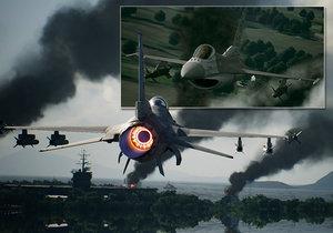 Ace Combat 7: Skies Unknown je skvělá letecká arkáda.