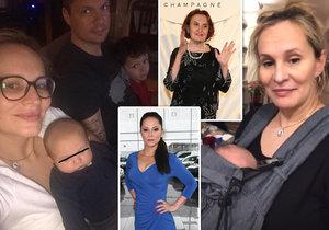 Absolonová si na Instagramu nechala poradit od zkušenějších matek