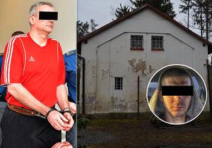 Jaromír Š. dostal u krajského soudu v Plzni výjimečný trest 28 let za vraždu Dominika (†21). Toho mě utopit v jímce domu, kde dříve bydlel.